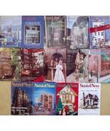 Lot of 14 NUTSHELL NEWS Magazines~1983-1993~Dol... - $44.54