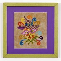Glitzy Gourdelia halloween cross stitch chart G... - $10.80