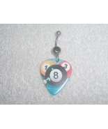 Eight 8 Ball Pool Table Game Printed Guitar Pic... - $6.95
