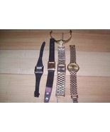 Lot 5 wrist watches New battery Citizen Caesars... - $29.69