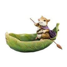Department 56 Garden Guardians Mouse in Leaf Bo... - $44.55