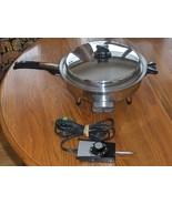 Webalco Stainless Steel Electric Skillet 7230E ... - $65.00