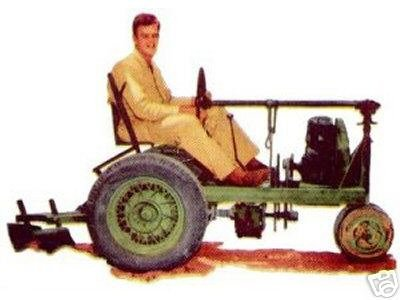 homemade tractor plans