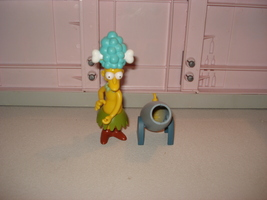 PLAYMATES TOYS THE SIMPSONS SIDESHOW MEL FIGURE... - $4.50