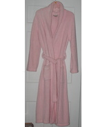 Kim Rogers Intimates Long Microfleece Pink Robe... - $35.00