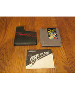 Skate or Die (Nintendo, 1988) TESTED NES SKATEB... - $9.89