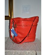 NWT $375 REBECCA MINKOFF QUINN Leather Bucket S... - $169.44