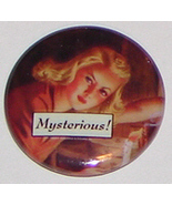 Nancy Drew Pin Mysterious! FREE w/purchase - $0.00