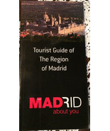Madrid Tour Guide Book - $1.98