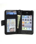 Navor Folio Wallet Case for iPhone 4 4S Pockets... - $13.50