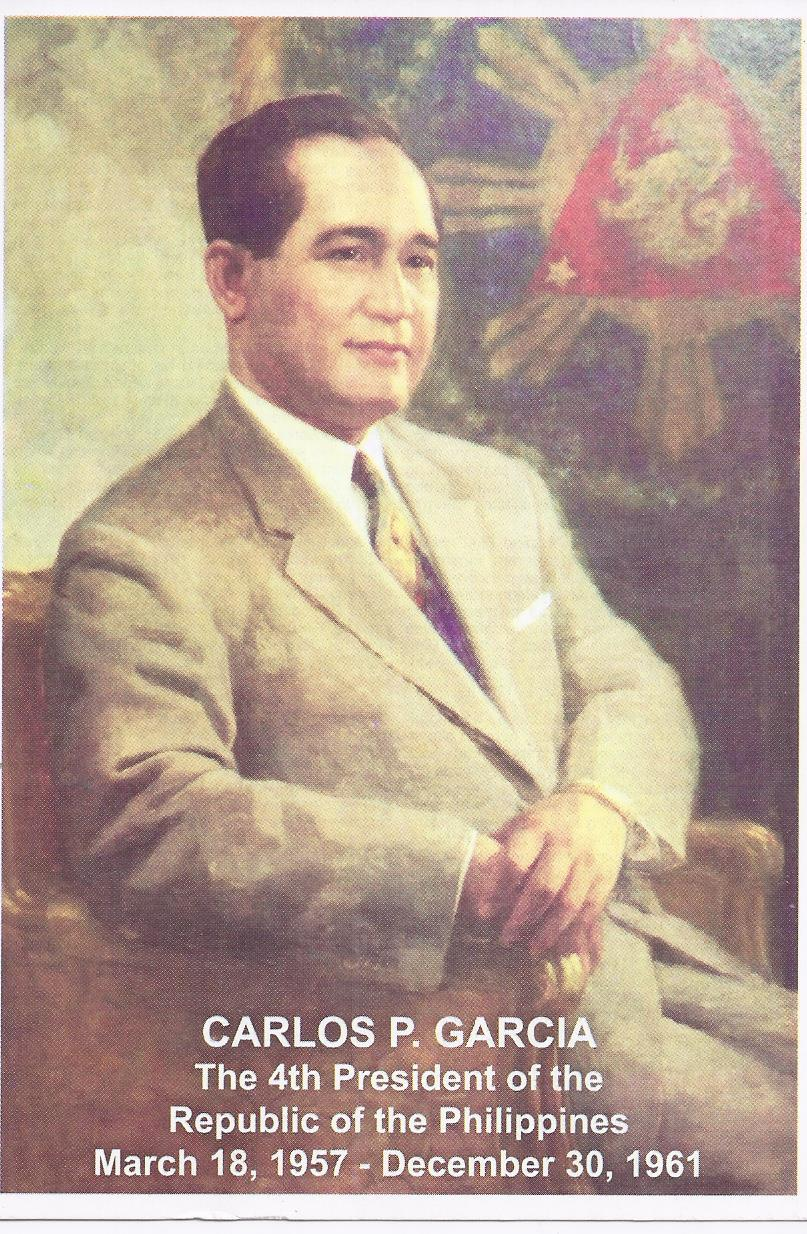 Philippines Biography Carlos P Garcia 4th Pres Of The Republic English Tagalog Other