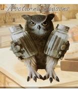 Owl Salt & Pepper Shaker Set 7