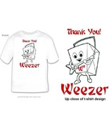 WEEZER CHINESE TAKE OUT THANK YOU RIVERS CUOMO ... - $9.99