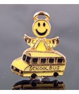 Smiley School Bus Angel Pin - $2.99