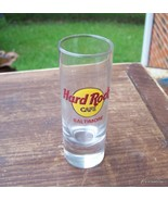 HARD ROCK CAFE SHOT GLASS BALTIMORE RED LETTERS... - $45.00