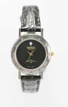 Benrus Diamond Women's Black Dial Shiny Gunmeta... - $29.67