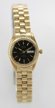 Benrus Womans Gold Tone Stainless Steel Band Wa... - $38.58