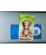 WFC Paper House Productions 3 D Christmas  Rein... - $4.00