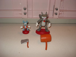 PLAYMATES TOYS THE SIMPSONS ITCHY & SCRATCHY FI... - $8.00