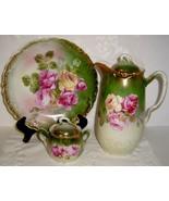 Antiq Wheelock & Co. Germany California Rose Ch... - $90.00