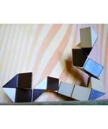 Magic Snake Puzzle Vintage Toy Rubiks Cube Logi... - $40.00