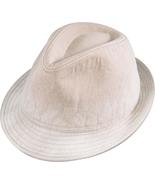Henschel Distressed Cotton Fedora Washable Crus... - $36.00