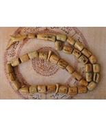 HUGE Prayer Beads-BEIGE Coral-Yusr komboloi-Tas... - $189.05