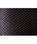 4yds HAUTE COUTURE WOOL SUIT FABRIC ITALY BLACK... - $300.00