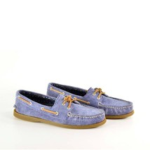 Sperry Womens Boat Shoes  9093014 Ao Blue Washe... - $47.00