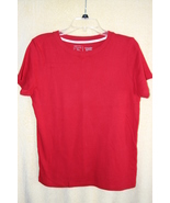 Christopher & Banks 100% Organic Cotton Red Sum... - $4.99