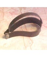 Leaf Cookie Cutter vintage Tin with handle - $8.00