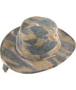 Henschel Cotton Oilcloth 10 Point Hat Crush Flo... - $49.00