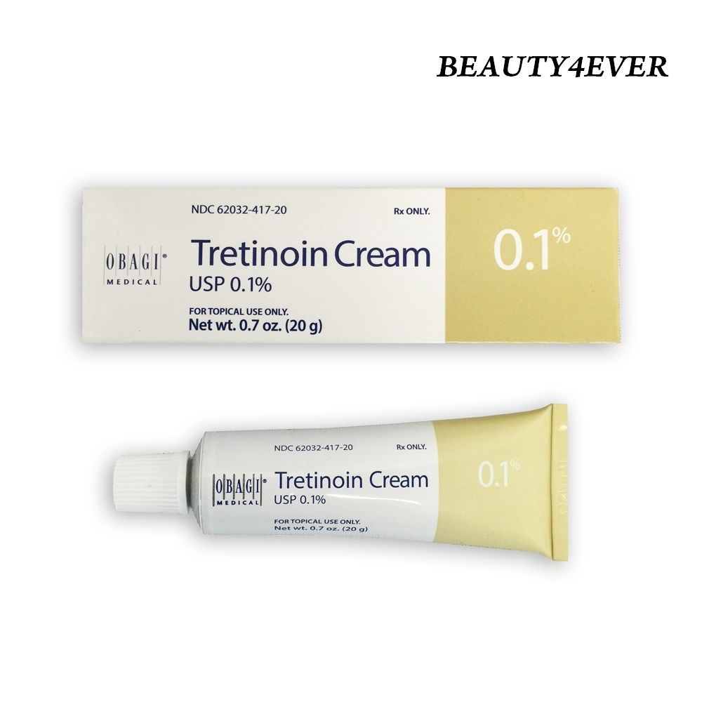 Obagi Tretinoin Cream 0.1% 20g (NEW PACKAGING) - Anti