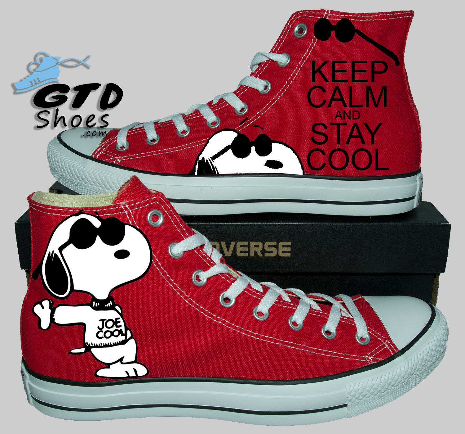 Painted converse sneakers, Snoopy, Keep Calm, Fanart ...