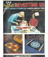 Phentex Punch Needle Rug Kit 2316 Printed Canva... - $14.93