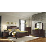 CAMBRIDGE-TRANSITIONAL 5pcs CHERRY BROWN QUEEN ... - $1,865.72