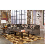 COSMO - 3pcs MODERN CAFE BROWN MICROFIBER SOFA ... - $1,485.74