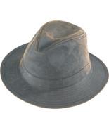 Henschel Waxed Cotton Safari Mid Size Brim Crus... - $47.00
