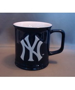 NY Yankees 12 oz Sculpted Relief Blue Coffee Mu... - $6.99