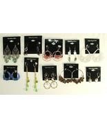 Bloomingdales Dangle Earrings Wholesale Lot 10 ... - $32.66