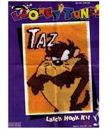 TAZ 1994 Latch Hook Rug Kit - Warner Bros -TAZM... - $19.99