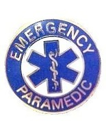 Emergency Paramedic Lapel Collar Device Pin Sil... - $9.97