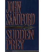 Sudden Prey John Sanford HCDJ First Edition Sus... - $7.99