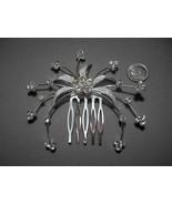 Rhinestone Hair Comb Wedding Hair Clip Crystals... - $11.99