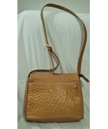 GIANI Bernini Genuine leather bag Handbag Tan c... - $70.00