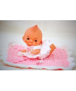 Crawling Cupie/Kewpie Doll with Handcrafted Out... - $17.50