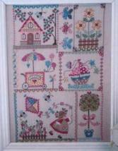 Summer In Quilt cross stitch chart Cuore e Batt... - $13.50