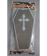 Recollections Coffin Shaped Blank Halloween Car... - $3.99