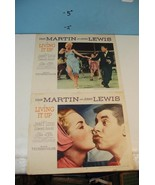 1954 Two Lobby Cards:  Dean Martin & Jerry Lewi... - $47.34