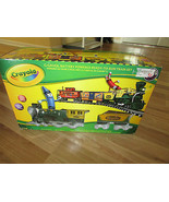 USED LIONEL CRAYOLA TRAIN SET G-GAUGE  - $98.99